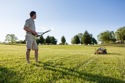 GPS for the Landscaping and Lawn Care Industries